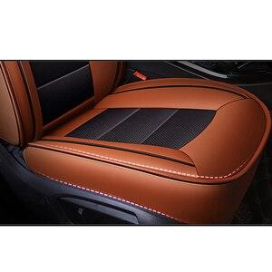 Image 5 - Kokololee Custom Real Lederen Auto Stoelhoezen Set Voor Opel Astra H G J Insignia Vectra B Meriva Vectra C mokka Auto Accessoires