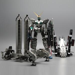 Image 2 - Bandai Mg 1/100 Metalen Plating Kleur RX 0 Volledige Armor Eenhoorn Gundam Kaka 20 Cm Monteren Actie Toy Figures Kinderen geschenken