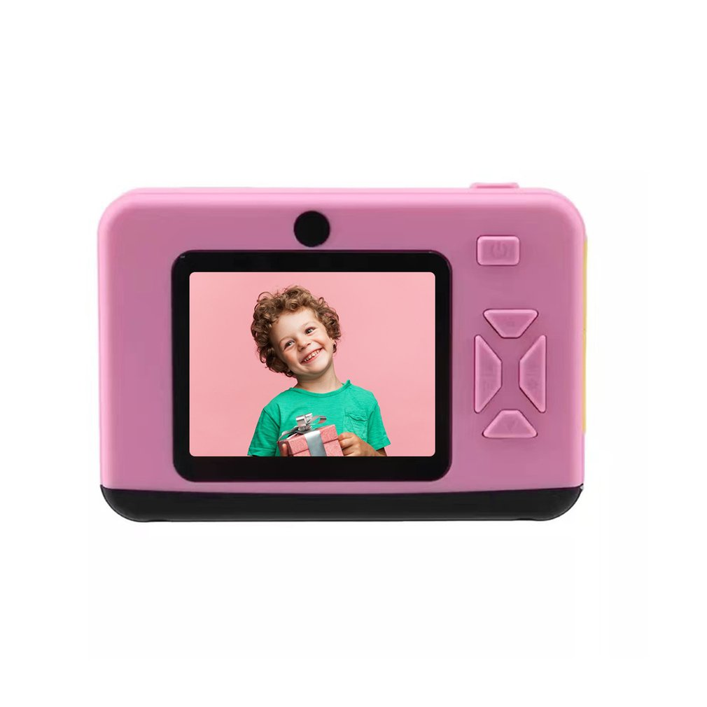 Dual Camera High Definition Eye Protection Screen Childred Camera Multiple Image Stabilization Autofocus Gift