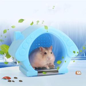 Охлаждающая комната для хомяков, маленькие животные, хомяк, летний крутой домик, охлаждающая комната для домашних животных, хомяк Шиншилла (...