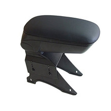 In stock Big Black Storage Armrest Console Box With Leatherette Padding Center Console Universal Fit for 88 Acur  integra