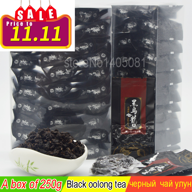 250g Black Oolong Tikuanyin Lose Weight Tea Superior Oolong Tea Organic Green Tie Guan Yin Tea To Loose Weight China Green Food