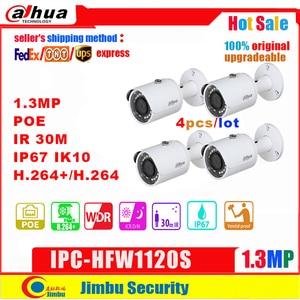 Image 1 - Dahua câmera ip 1.3mp IPC HFW1120S poe ir30m h.264 + ip67 à prova dip67 água inglês firmware pode ser atualizado câmera bala cctv