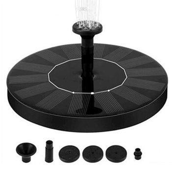 цена на 7V Solar Fountain Watering kit Power Solar Pump Pool Pond Submersible Waterfall Floating Solar Panel Water Fountain For Garden