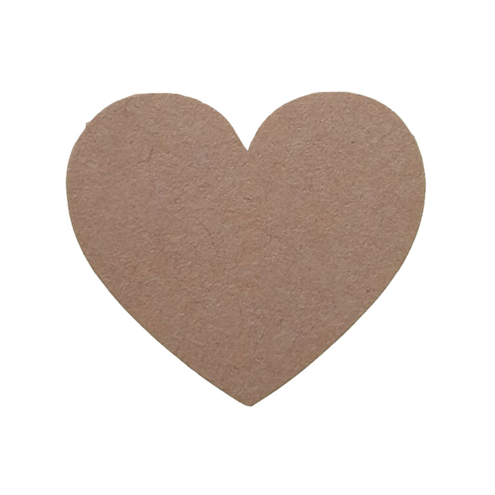 120pcs/10 sheet Heart Shape Kraft Paper Adhesive Label  Sticker Seal Labels, Candy Biscuits Dessert Bags Envelope Packaging-4