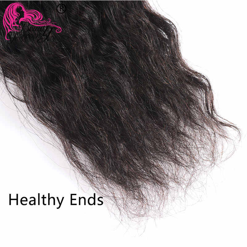 Beauty Blijvend Super Wave Brazilian Hair Weave 3 Bundels 100% Remy Menselijk Haar Weven Natuurlijke Kleur 8-326 inch haar Gratis Verzending