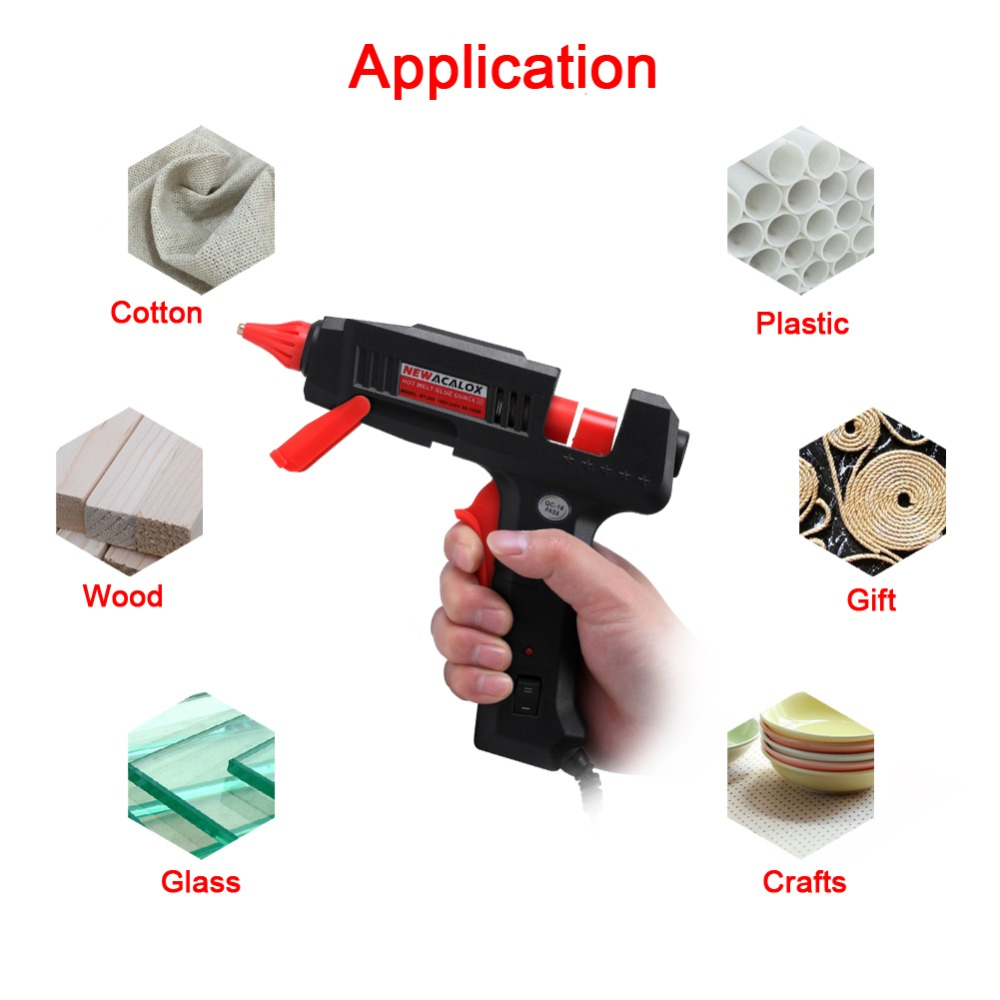 NEWACALOX Mini Hot Glue Gun for All Bonding Jobs of Any Office and House 23