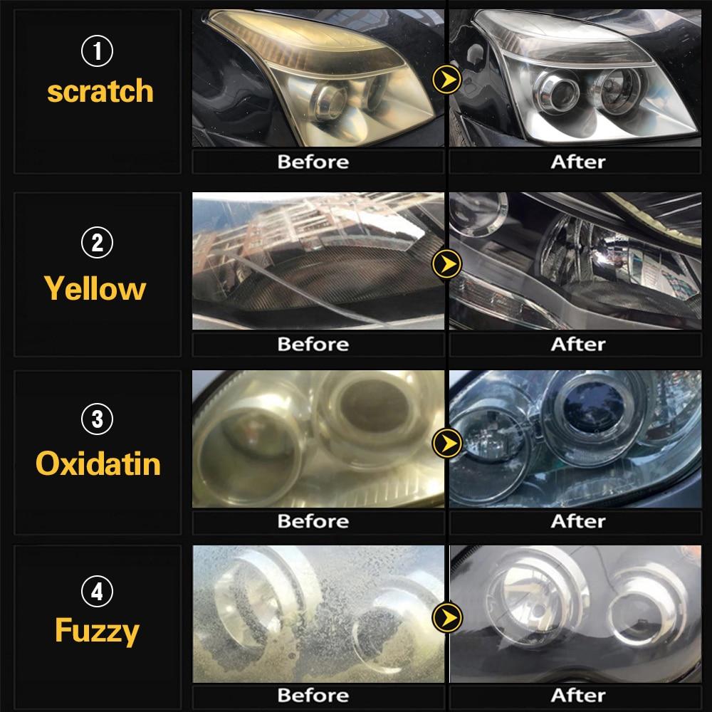 "7pcs 3"" Car Sponge Polishing Pad Set Polishing Buffer Waxing Adapter Drill Kit for Auto Body Care Headlight Assembly Repair 6"
