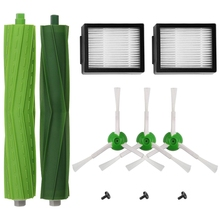 Replacement Accessory Kit For Irobot Roomba I7 I7+/I7 Plus E5 E6 E7 Series Robotic Vacuum,2 Filters+3 Brushes+1 Multi-Surface Ru