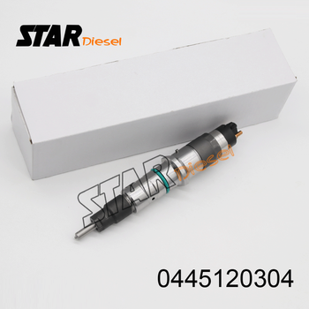 Auto parts Common rail diesel fuel injectors 0 445 120 304 (5283275) and injection 0445120304 assy for bosch Cummins ISLe Eu3