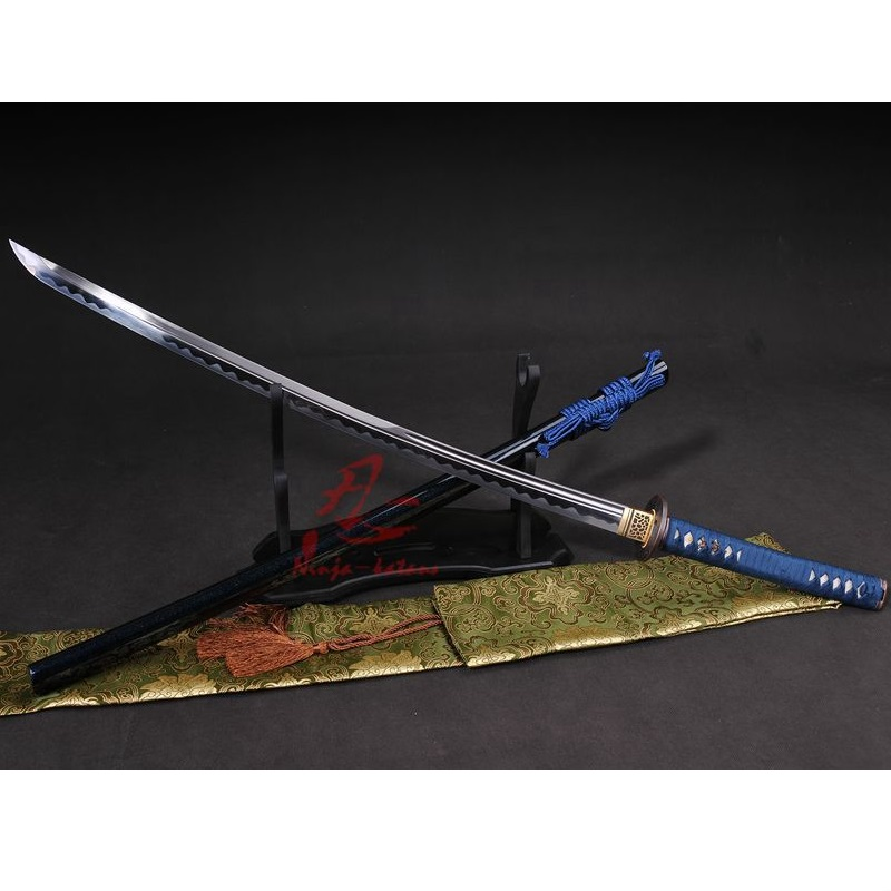 battle ready UNOKUBI ZUKURI 9260 spring steel jp katana sword sharp blade full tang