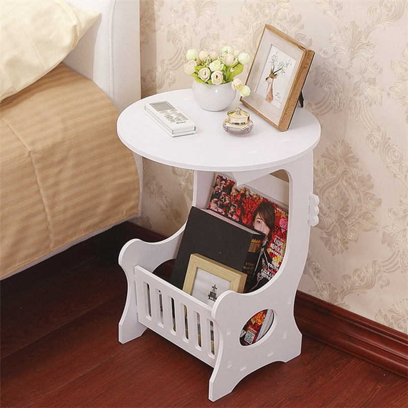 Best Offer C5cdd Mini Plastic Round Coffee Tea Table Home