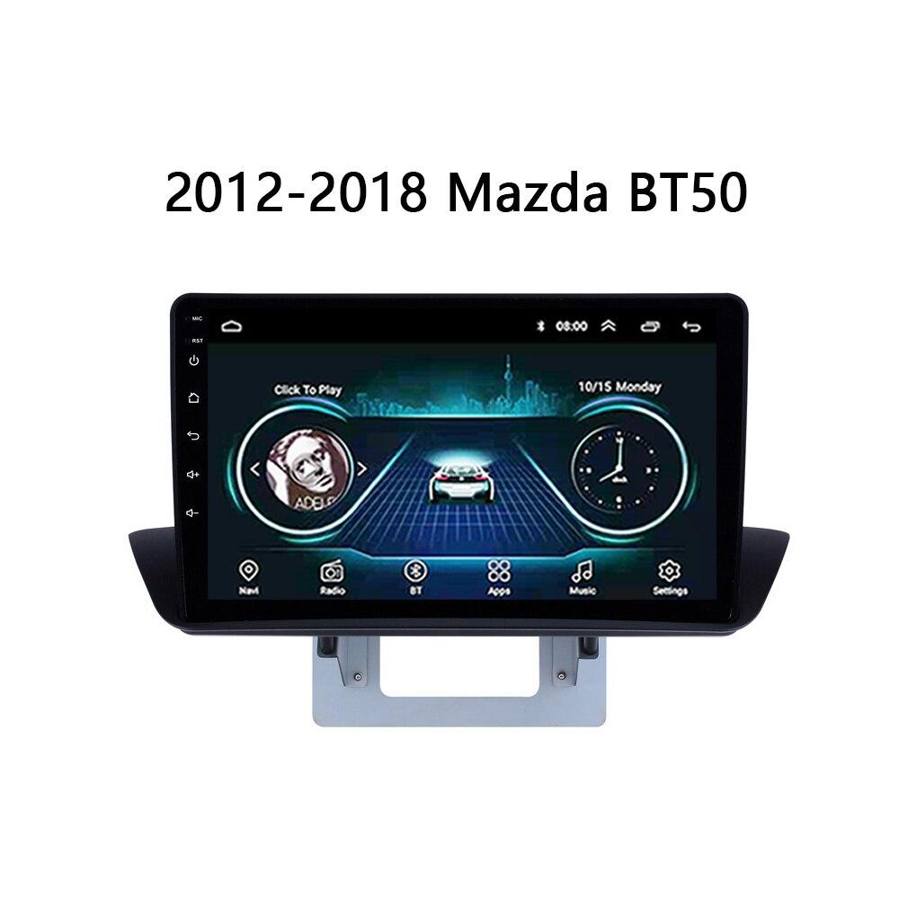 Sistema Multimedia del coche para 2012 2018 Mazda BT 50 BT 50 BT50 AutoRadio Audio estéreo cámara de visión trasera reproductor de vídeo SWC Mirror Link