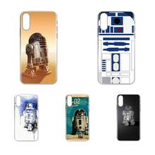 Soft Cute Skin Bb8 Bb 8 R2d2 Robot Pastel For Samsung Galaxy J8 J7 J6 J5 J4 J3 J2 prime pro core 2018 2017 2016 2015(China)