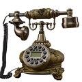 Ретро Европейский стиль стационарный телефон винтажный домашний стационарный телефон дом Корт из смолы land line телефоны Проводные