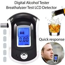 Professional Digital Breath Alcohol Tester Breathalyzerเครื่องทดสอบแอลกอฮอล์เครื่องตรวจจับแอลกอฮอล์Dropshipping
