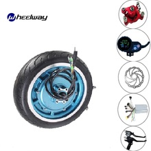 10 Inch Hub Motor 36V/48V 350W/500W Brushless Gearless Electric Bicycle Ebike Scooter Folding Kit Hub Motor 12 350w 36v electric brushless hub motor electric scooter motor kit e scooter motor for xiaomi scooter