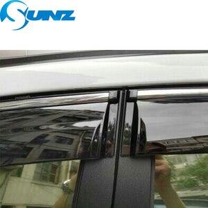 Image 5 - Fumée voiture fenêtre latérale déflecteurs pour CHERY Arrizo 3 2015 2016 2017 2018 pare soleil auvents abris gardes accessoires SUNZ