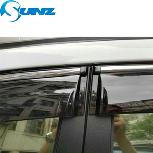 Image 5 - smoke Car Side Window Deflectors For CHERY Arrizo 3 2015 2016 2017 2018 Sun Shade Awnings Shelters Guards accessories SUNZ