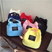 Женские парусиновые сумки многоразового использования для Покупок