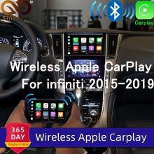 Sinairyu inalámbrico Apple Carplay para infiniti Pantalla de 8 pulgadas 2015-2019 Q50 Q60 Q50L QX50 Android Auto espejo Wifi coche Play Airplay(China)