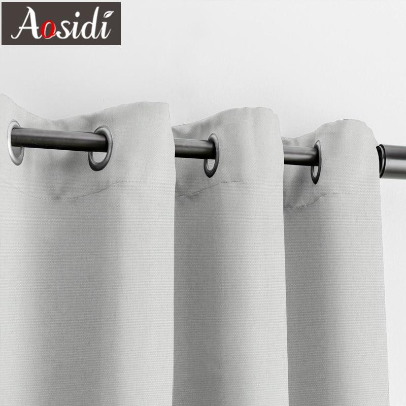 Льняные текстурированные занавески aosidi 100% для гостиной
