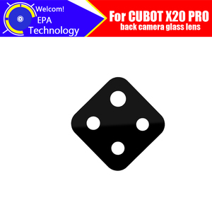 Image 1 - CUBOT X20 PRO Back Camera Glass Lens parts 100% Original New Rear Camera Glass Lens Replacement For X20 PRO
