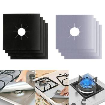4PC/6PC/8PC with Gas Burner Cover, Non-stick Boiler Burner Lining Kitchen Gas Stove Protector, Cut, Dishwasher Safe, Easy to Cle riello 40g5lc one stage diesel oil burner riello g5 industrial diesel burner use for oven baking boiler