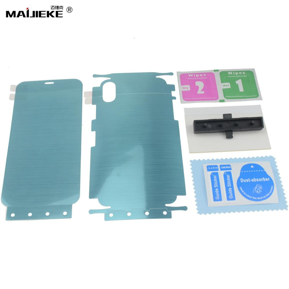 Image 4 - 10D Front+Back Hydrogel Film for Samsung Galaxy S10 plus S10 5G S10e S9 S8 plus Note 10 plus Note 9 8 Nano Full Body Memory Film-in Phone Screen Protectors from Cellphones & Telecommunications on