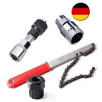 Bicycle Tools 4 in 1 Pedal Drive Bottom Bracket Crank sprocket Puller Cassette Puller|Bicycle Repair Tools|   -