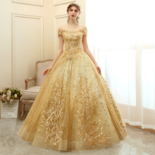 Quinceanera Dress 2020 Luxury Party Prom Ball Gown Vintage L