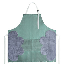 Kitchen Hand Cleaning Household Apron with Towel Apron Waterproof Oil-Proof Wipable Hand Cleaning Large Pocket Apron Bib wq002 kitchen oil proof cloth apron black