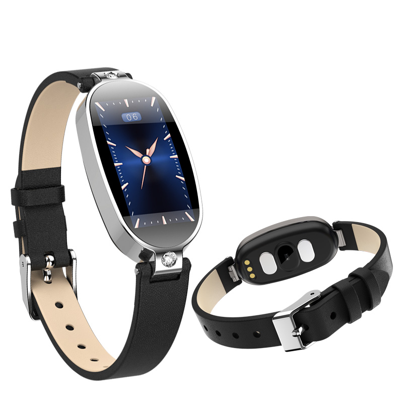 ECG PPG smart watch Women with electrocardiogram display heart rate blood pressure smart Band Fitness Tracker New|Smart Wristbands|   - title=