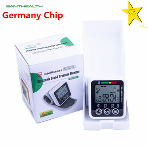Image 4 - Russian Voice Tonometer Wrist Blood Pressure Monitor Automatic Wrist Digital Meter for Measuring And Pulse Rate Sphygmomanometer