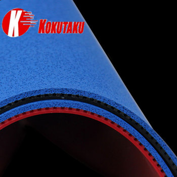 цена на KOKUTAKU Table Tennis Rubber Blue Cake Sponge Pimples In Ping Pong Rubbers ITTF for 40+ ball for pingpong bat paddle racket