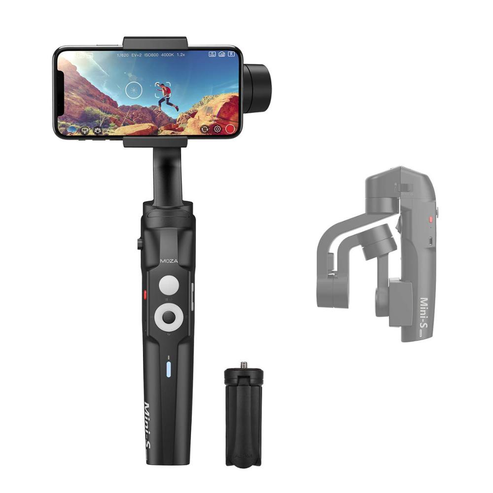 MOZA MINI S 3 Axis Foldable Pocket Sized Handheld Gimbal  Stabilizer MINI S for iPhone X 11 Smartphone GoPro VS MINI MI VIMBLE  2Handheld Gimbal