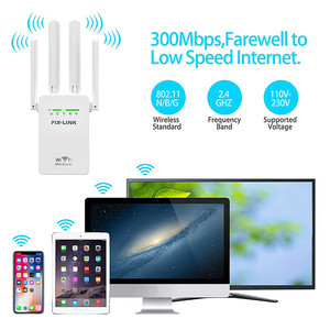 Image 5 - WR09 Repetidor De Sinal Wifi yönlendirici aralığı genişletici kablosuz Wifi tekrarlayıcı 300mbps ağ sinyal amplifikatör ile 4 antenler
