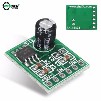XH-M125 XPT8871 Mini Mono Stereo Lithium Battery Power Amplifier Module Board Audio Output Input 6W Sing Machine Module 3V 5V 5W image