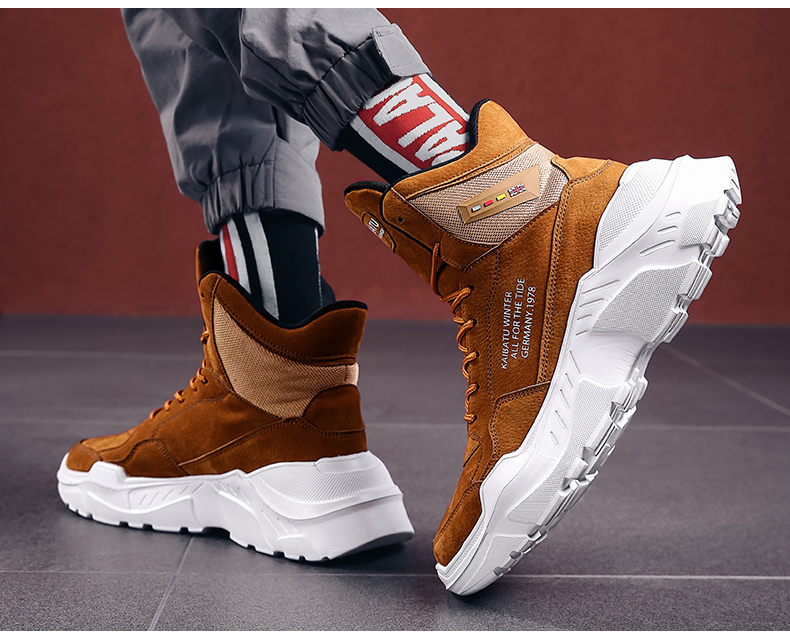 2019 Mens Shoes Casual Slip On Breathable Hot Sale Air Cushion Keep warm Sneakers Men Shoes Spring Shoes Outdoor Flats Shoes 43