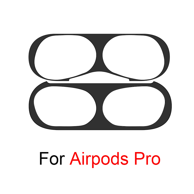 Dust Proof Metal Dust Guard For Airpods Pro Sticker Apple Skin Accessories Case Charging Box Protector For Airpods 3 Airpods Pro