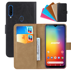 Luxury Wallet Case For Digma CITI 653 PU Leather Retro Flip Cover Magnetic Fashion Cases Strap(China)