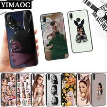 Ariana Grande Cartoon Silicone Soft Case for Huawei P8 P9 P10 P20 P30 Lite Pro P Smart Z Plus