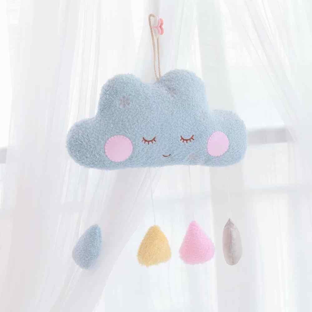 Hangable algues oreiller lune nuage oreiller en peluche jouets en peluche coussin fille chambre décoration cadeaux de noël jouets pour enfants