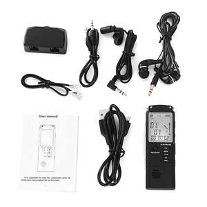 Dictaphone Voice-Recorder Audio Professional Digital Portable Lcd-Display 8G 16G Usb-2.0