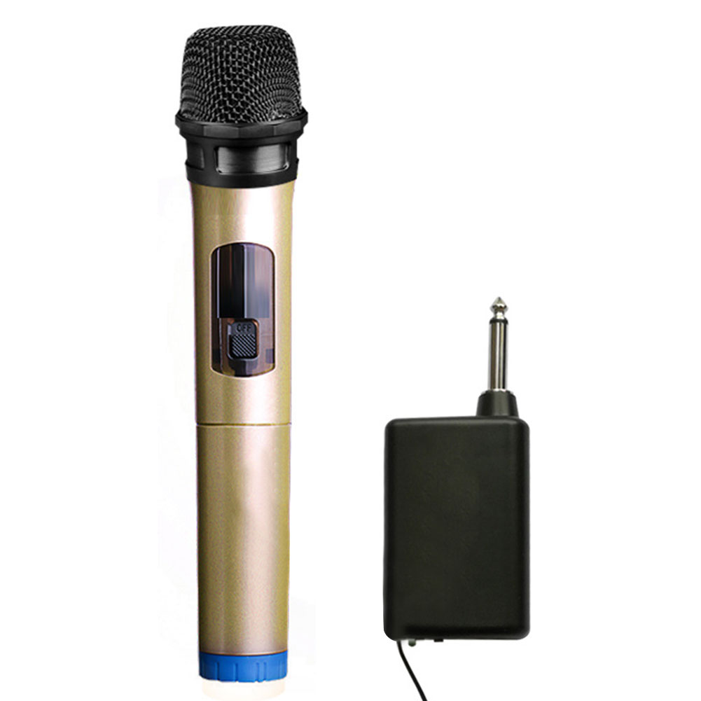 Stage Karaoke Singing Handheld Recording Battery Powered Wireless Parties Dynamic Speakers Plug And Play Outdoor Home Microphone