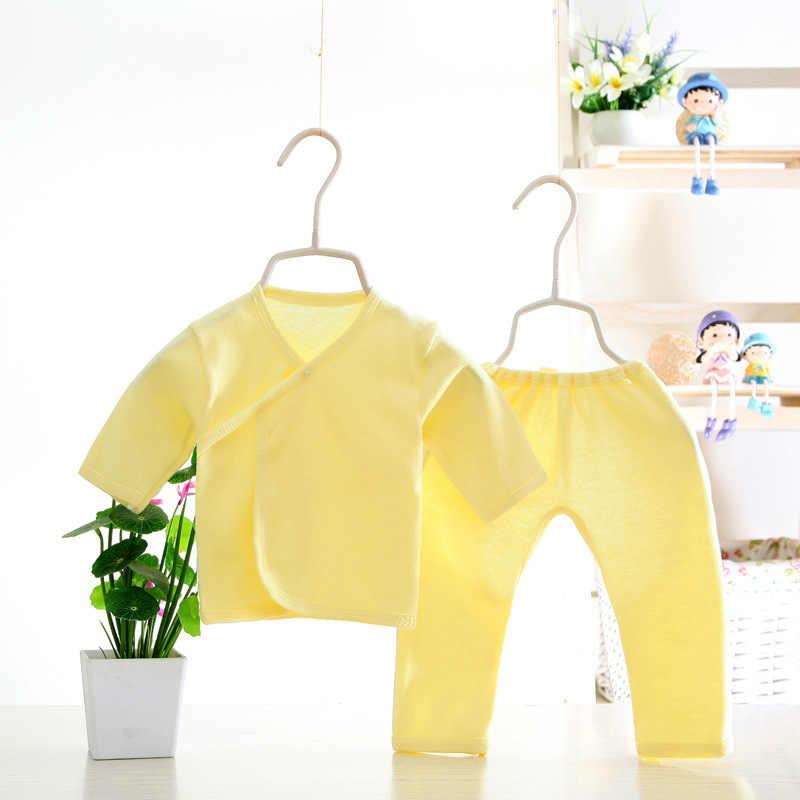 (2 개/대) 신생아 0-3M 의류 세트 브랜드 Baby Boy/Girl Clothes 100% Cotton Cartoon thicken Underwear, 무료 배송