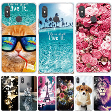 For Xiaomi Mi Max 2 3 Mix 2 2s Case Painted Silicone Cover For Xiaomi Mi Max3 Max2 Case 3D Cute Coque For Xiaomi Mi Max 3 Cases все цены