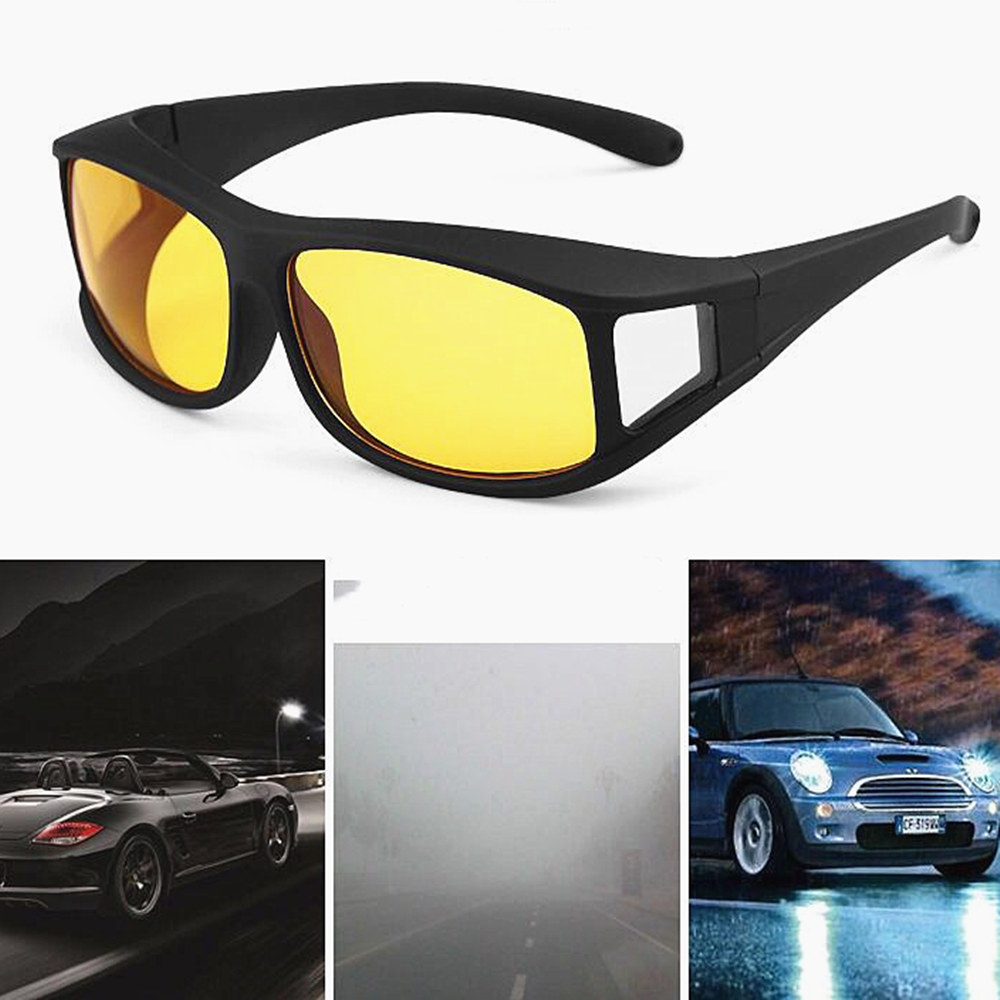 Car Night Vision Driver Goggles Unisex HD Vision Sun Glasses Car Driving Glasses UV Protection Sunglasses Eyewear