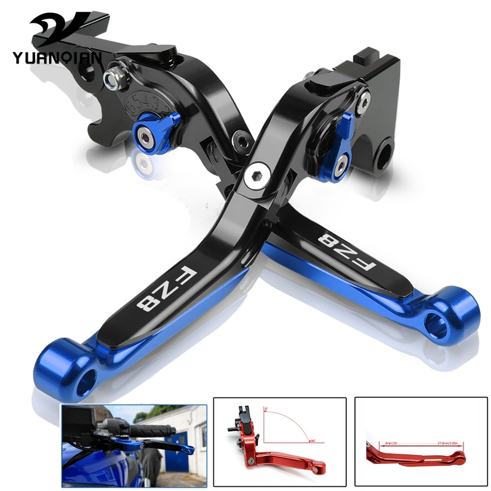 Fit Yamaha FZ8 2010-2016 Motorcycle CNC Foldable Extendable Brake Clutch Lever