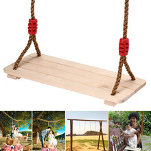 Kids Swing Hammock Cuddle Steady Seat Swing Outdoor Wood Hanging Rope Seat Kids Children Swing Garden Playground Play Toys cheap In-Stock Items SKU849870 Type 5-7 Years 8-11 Years 12-15 Years Grownups 6 years old 8 years old